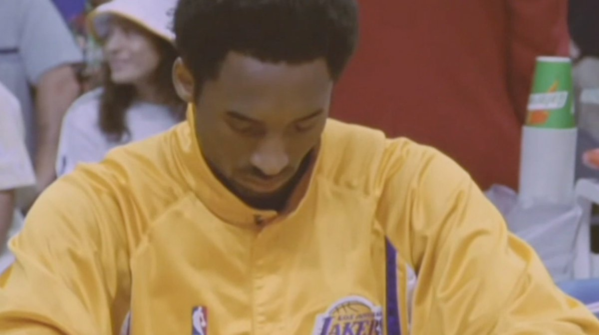 Just a sad day all around and this video says it all about the person Kobe Bryant was. Dear Kobe.