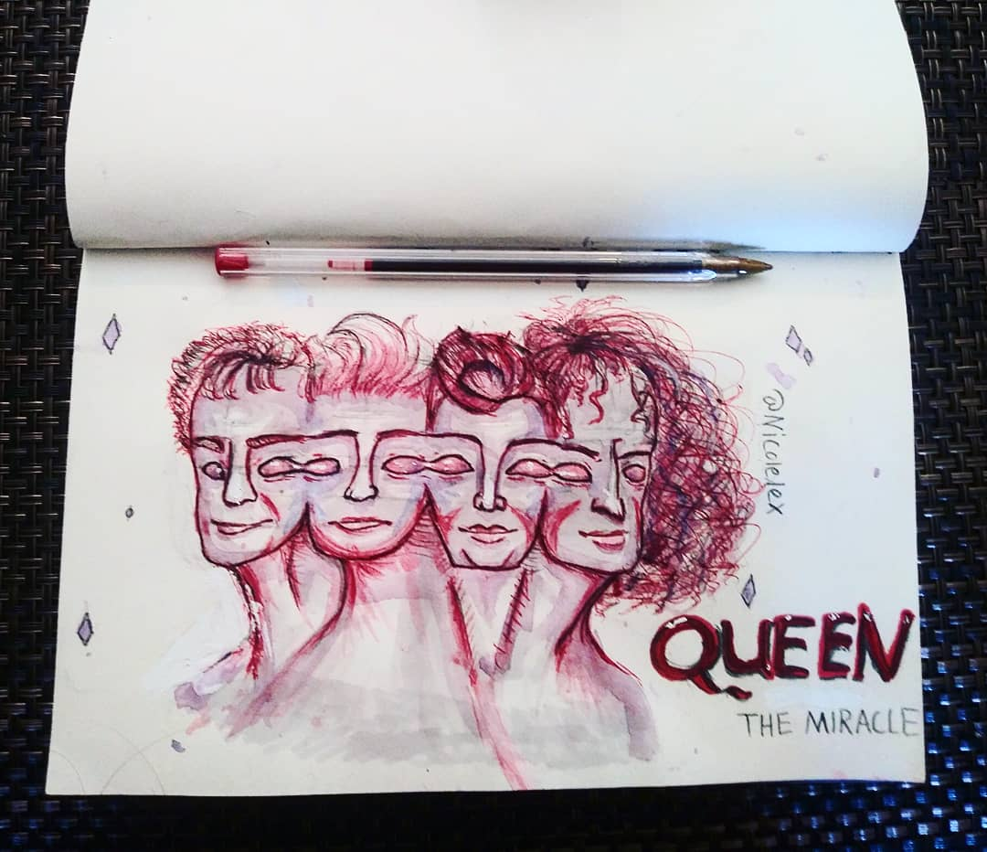 Some Queen fanart i forgot to post! Whos your favorite Queen member or do you love them all? #Queen #FreddieMercury #BrianMay #JohnDeacon #Rogertaylor #BohemianRhapsody #doodle #sketches #drawings #Art #traditionalart #SundayFundaypic.twitter.com/TZtmvKTMiM
