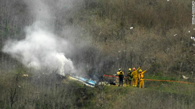 The manifest for the helicopter that crashed showed 9 people on board, the sheriff says. Kobe Bryant was among the dead, and there were no survivors.  https://cnn.it/2RujC1c