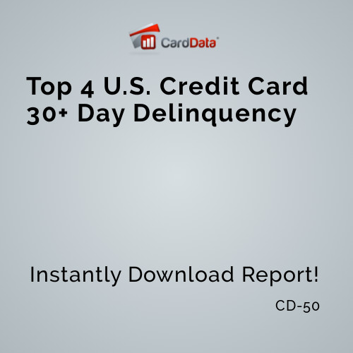 30+ Day Card Delinquency Among Top 4 Issuers on Upward Trajectory Rising 40 bps from 1Q/15 and Expected to Seasonally Dip in Next Quarter http://dld.bz/h2DEH #chase #creditcards #bankofamerica #citibank #capitalone #COF #C #BAC #JPM #CD50pic.twitter.com/AXBdSAIkq1