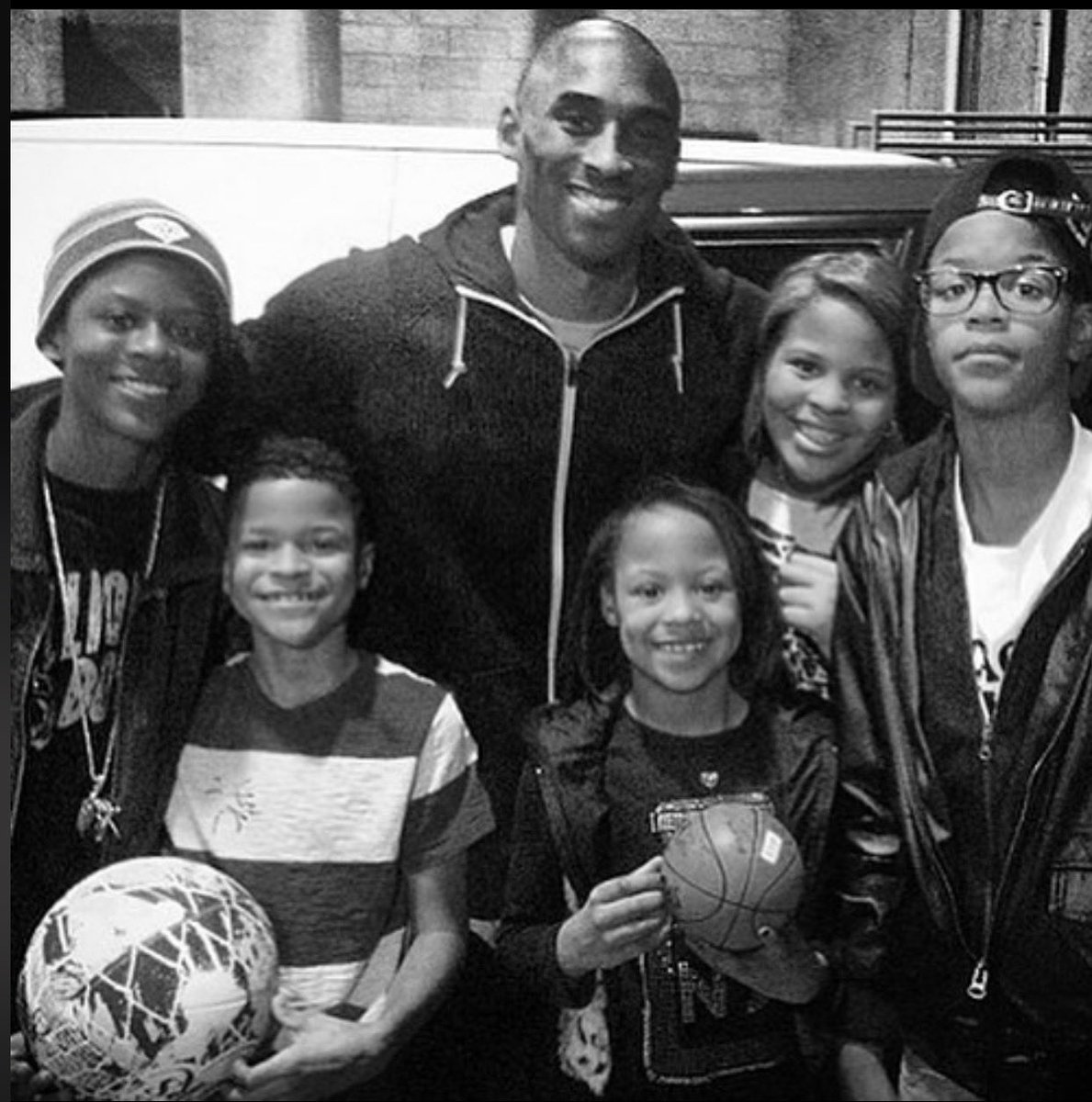 Kobe was so much more than an athlete, he was a family man. That was what we had most in common. I would hug his children like they were my own and he would embrace my kids like they were his. His baby girl Gigi was born on the same day as my youngest daughter Me'Arah.