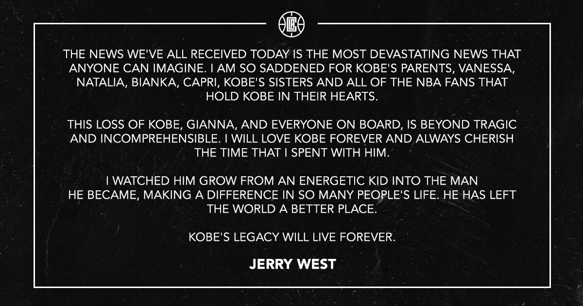 @LAClippers's photo on Jerry West