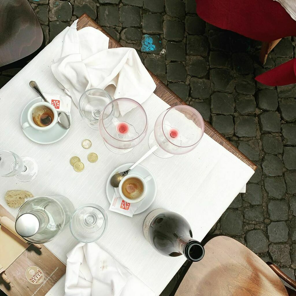 +++Pict of the Day+++ Gennaio a Roma, pranzare all'aperto da Nonna Betta, Valentina Cinelli https://ift.tt/3aDp6OG #cafexperiment #pictoftheday #coffeeoftheday #coffeelover #teamcoffee #coffeepornpic.twitter.com/mtAYda3t7I