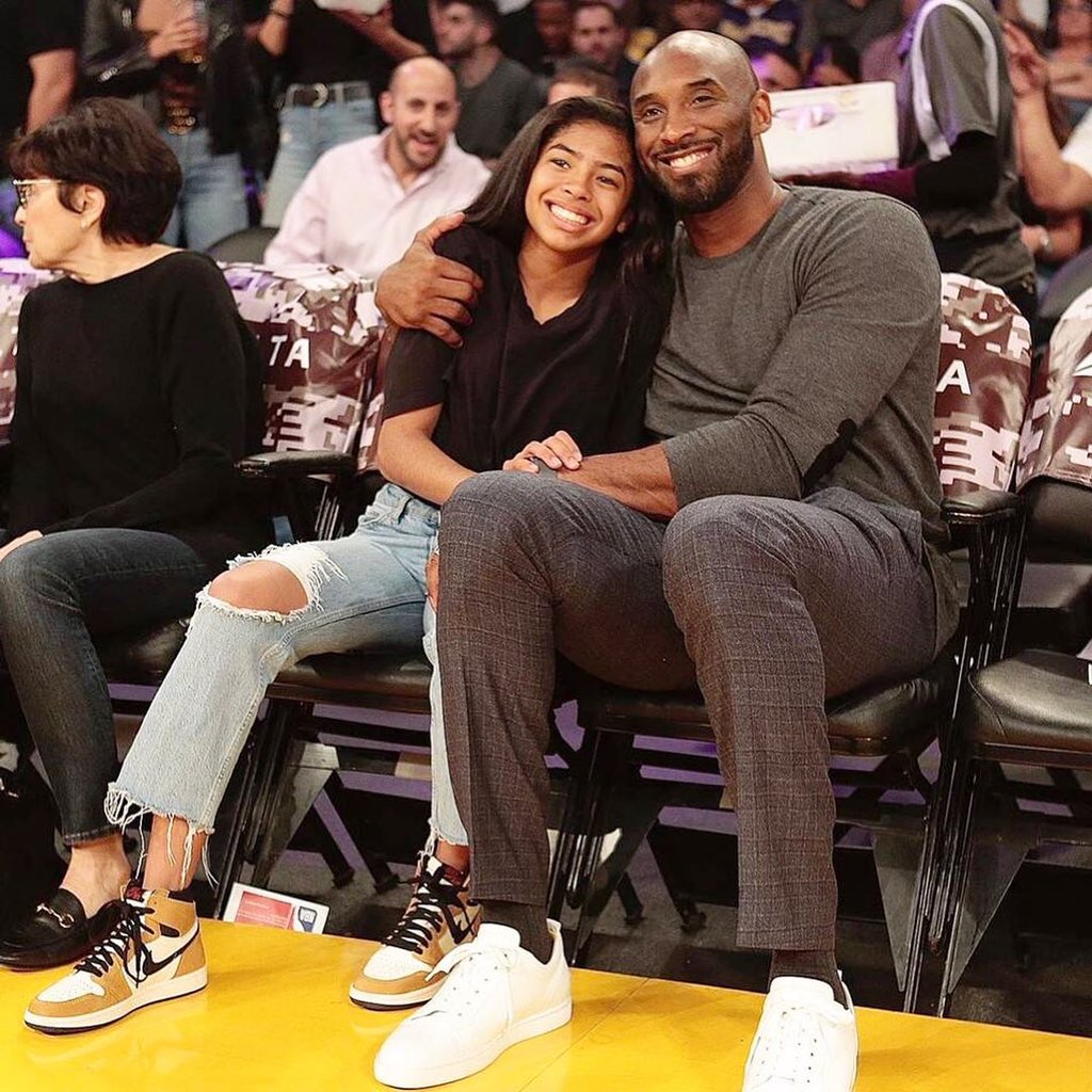 Rest In Peace, Kobe and Gianna Bryant. Taken far too soon. My thoughts are with the Bryant family at this incredibly difficult time, and the families of the others that passed in that tragic crash. Very sad.