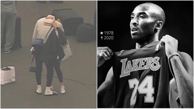 【影片】詹姆斯哭了!剛下飛機就聽聞Kobe去世噩耗,和朋友抱頭痛哭了一分多鐘!