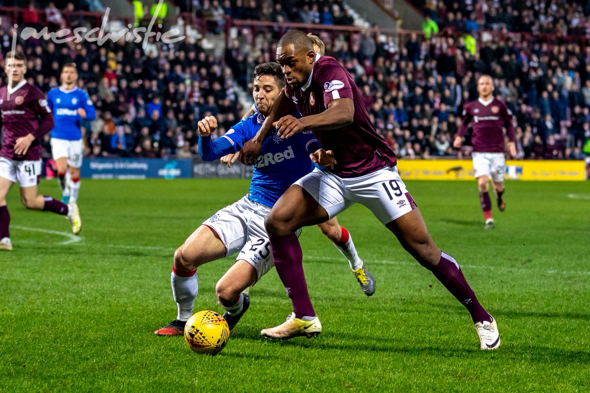 Not felt Tynecastle like that for a while  @JamTarts 2 - @RangersFC 1  Full gallery - http://www.jameschristiephoto.co.uk   #sportsphotography #sportsphotographer #footballphotographer #canonphotography @CanonEMEApro @Sigma_Photopic.twitter.com/rc8TDbHj3e