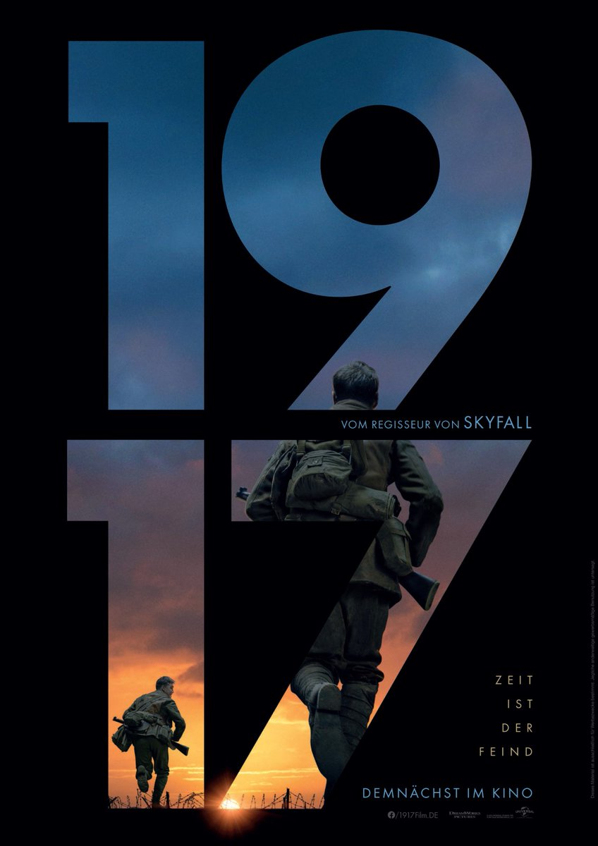 Wow! I watched #1917Movie today, what a stunning movie. Brilliant cinematography, amazing storytelling, good acting and so thrilling I forgot to breath a few times. Watch It! #SamMendes #GeorgeMacKay #DeanCharlesChapman #BenedictCumberbatch #ColinFirth #AndrewScott #RichardMaddenpic.twitter.com/xZDipRHFqL