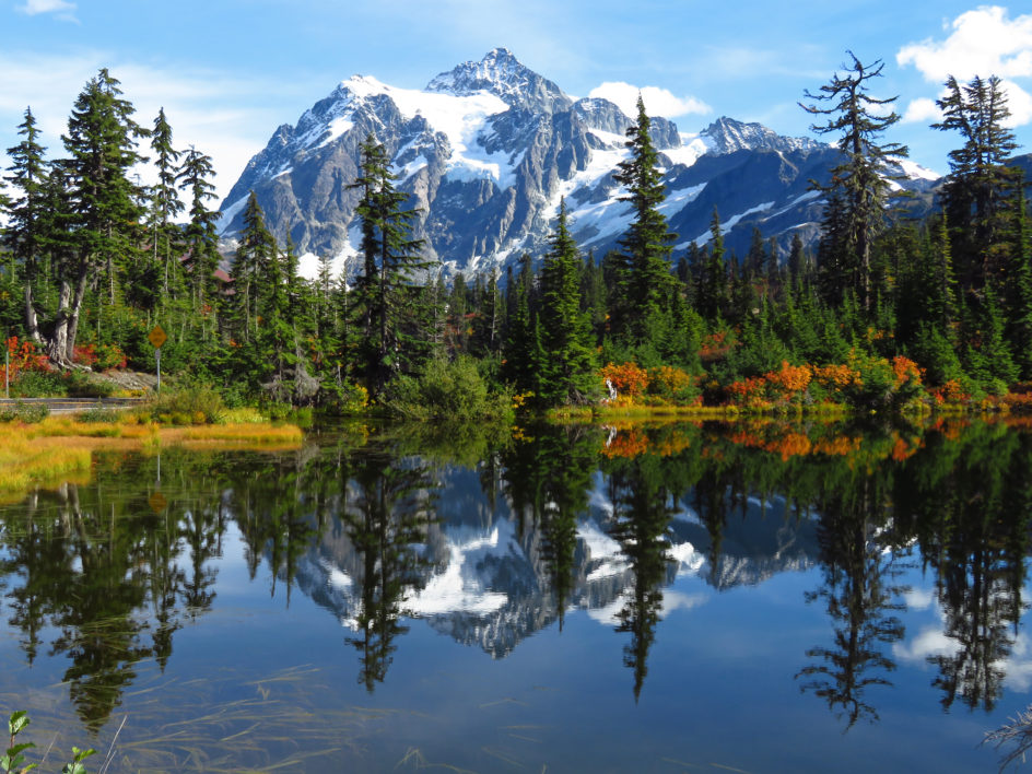 Landscape Mountain Reflections  By Jeff Hollett  Have a beautiful night  <br>http://pic.twitter.com/hXNVySSrh6