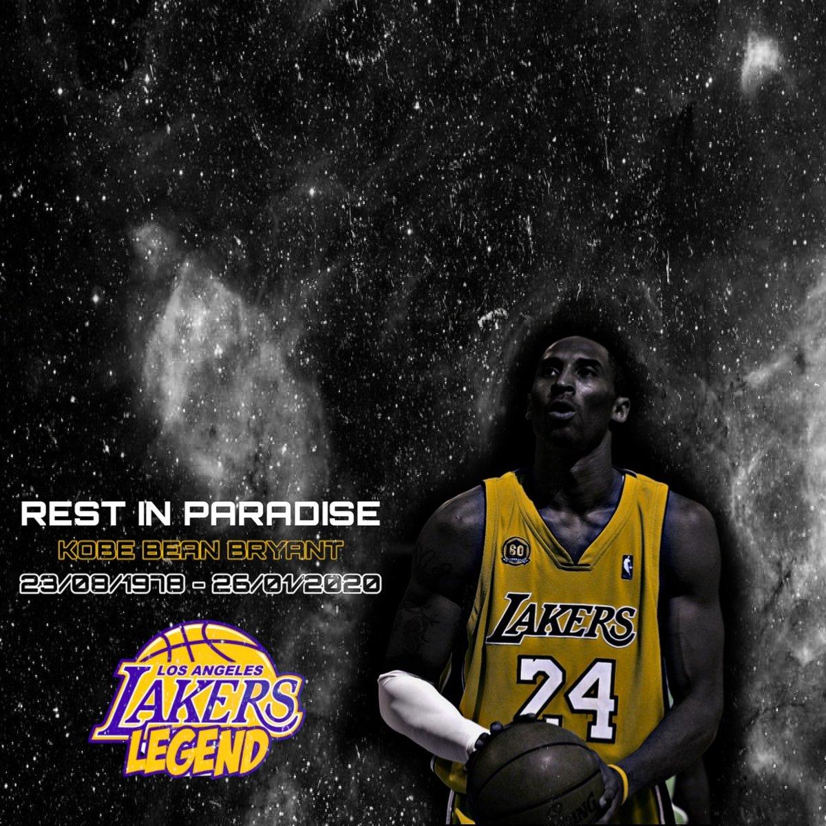 Rest In Paradise @kobebryant @lakers @lakersscene #legend #basketball #lakers #nba #rip #kobebryant #kobe #bryant #basketballedits @granity @drinkbodyarmorpic.twitter.com/DiEGMDRoEx