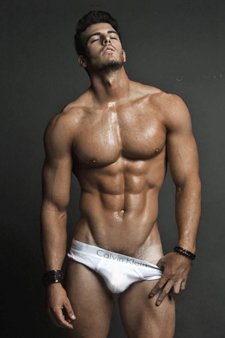 Hot gay model