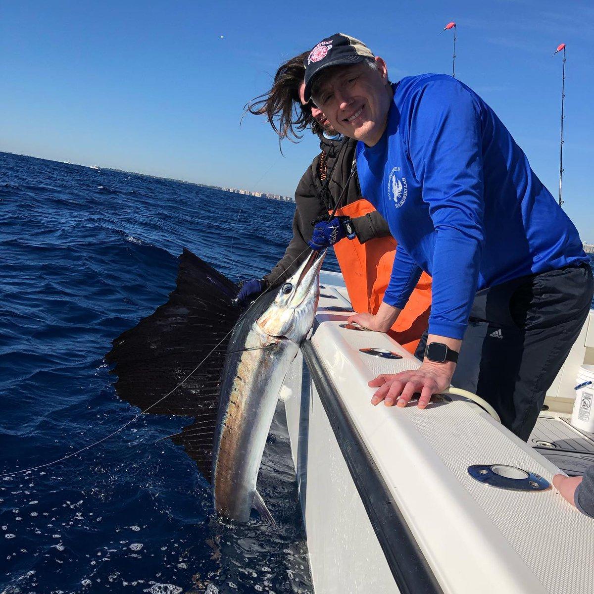 Miami, FL - Double D went 3-4 on Sailfish.