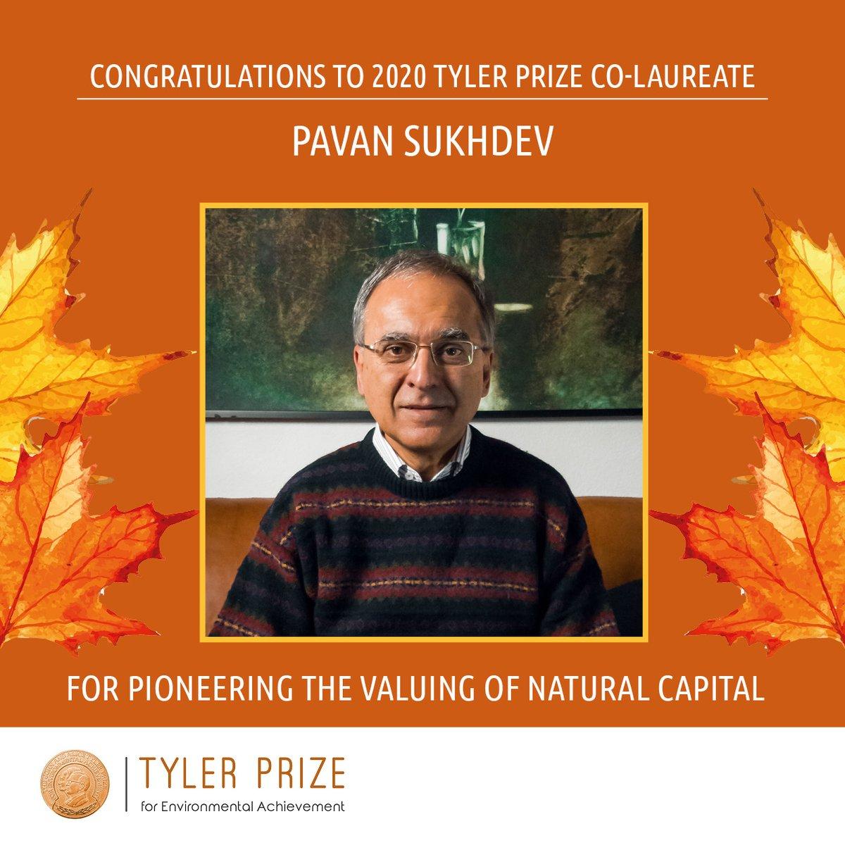 'Nobel for environment': India's Pavan Sukhdev wins Tyler Prize
