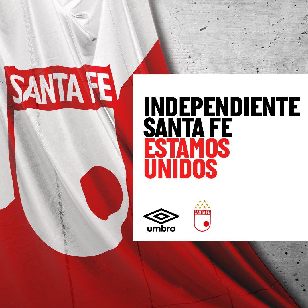 Estamos unidos, como un equipo, como una familia.   Espera el 29-1-2020 la nueva camiseta. . . . #UmbroColombia #Umbro #IndependienteSantaFe https://t.co/CNgeYtA0Ed
