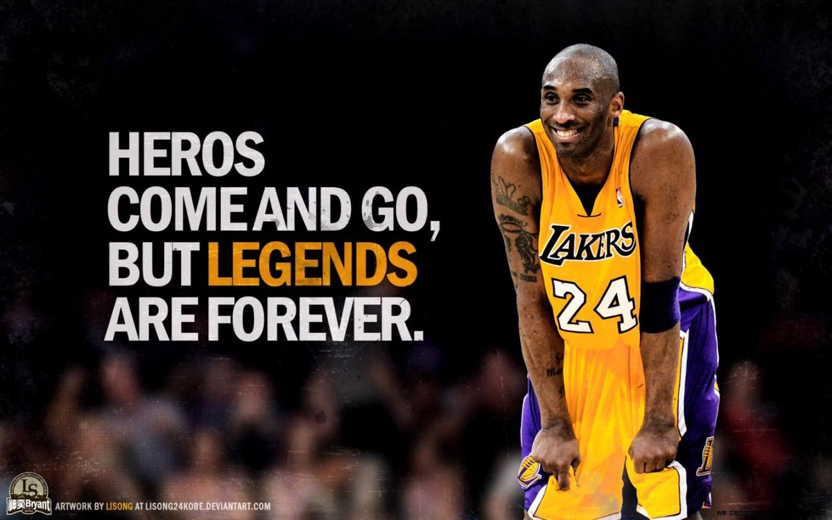 RIP to one of the greatest to ever do it. Life is too short, give someone you love a BIG hug. #BlackMamba #MambaForeverpic.twitter.com/52BuaZAnNv