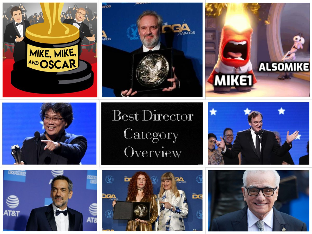 Our #BestDirector Pod is a #RoyalRumble! https://soundcloud.com/mikemikeandoscar/ep270-bestdirector1920catrev…  #FilmTwitter, What does #SamMendes' win at the #DGAAwards mean for the #Oscars?  We make our case for & against each nominee, rank our 5's + Mike1 goes pro wrestling on our candy asses.  https://podcasts.apple.com/us/podcast/mike-mike-and-oscar/id1293886831?mt=2…pic.twitter.com/fN9mJKt5yS