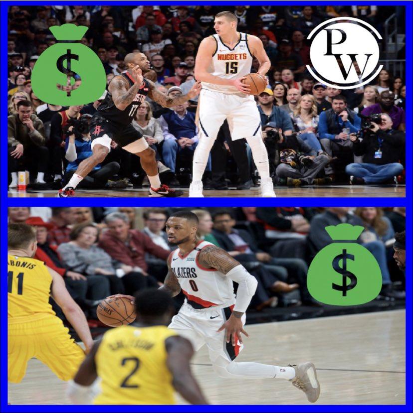 Nuggets  Blazers http://www.provenwinner.net  #sportsbetting #nflpicks #bettingtips #bookiekiller #bets #fanduel #nba #mlbpicks #bettingexpert #sportspicks #vegas #betonline #goals #casino #nbapicks #gambling #freepicks #bettingsports #sportsbook #handicappingpic.twitter.com/j91PILsHOr