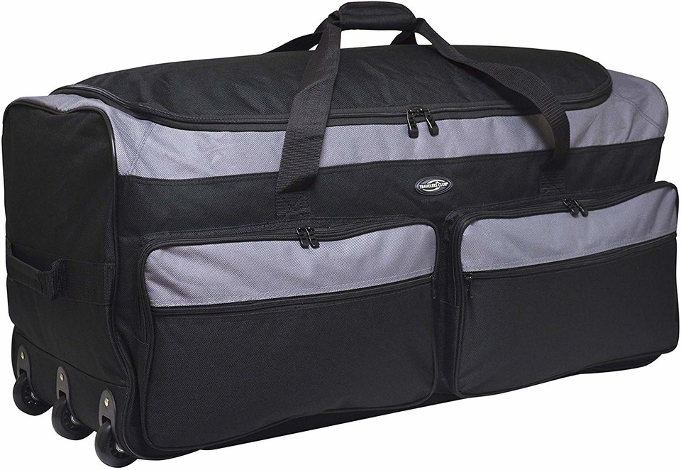 Geeks! Check this Deal!  3-Wheel Rolling Expandable Duffle Bag for $22.20 (save 56%)!  https://amzn.to/2RSr3yk   #travel #luggage #backpack #sports #dufflebag #geek #deals #tech #gamers #athlete #trainingpic.twitter.com/kOGUsMzu6S