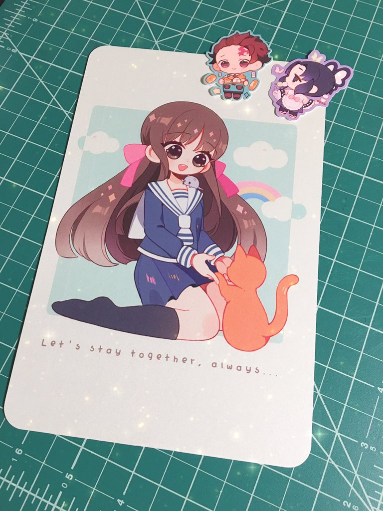 I forgot to post this but thank you so much for the print and stickers! Your art is so cute ^^ @dreamiedeco<br>http://pic.twitter.com/OfMPE6wBpC