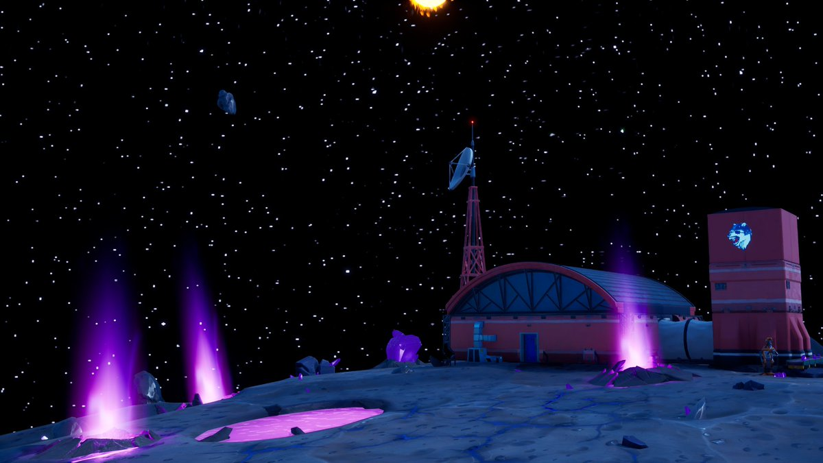Ive been scene building and worked on this base on an asteroid  #Fortnite #FortniteCreative #fortnitephotography pic.twitter.com/tIq1GGnDoD