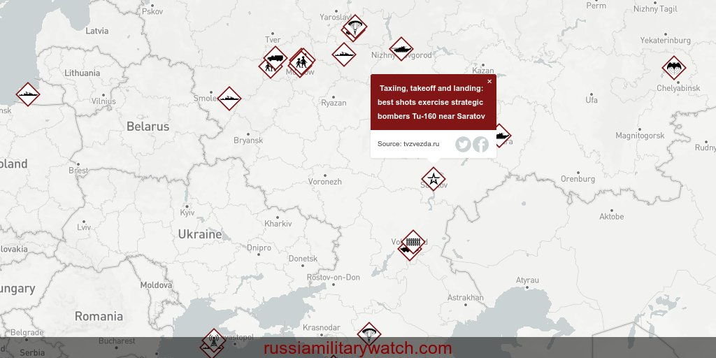 Taxiing, takeoff and landing: best shots exercise strategic bombers Tu-160 near Saratov | src: https://tvzvezda.ru/news/forces/content/2020127455-Axtqu.html … | rmw: https://russiamilitarywatch.com/?date=27.01.2020&id=44432 …pic.twitter.com/w6ZYyn0NP2