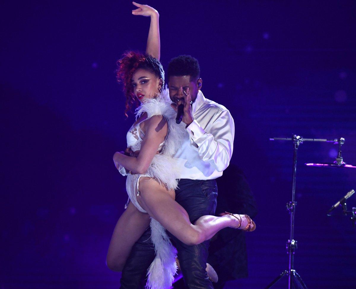 Watch Usher, Sheila E., & FKA Twigs perform a Prince tribute medley at the #Grammys trib.al/E9L3WEW