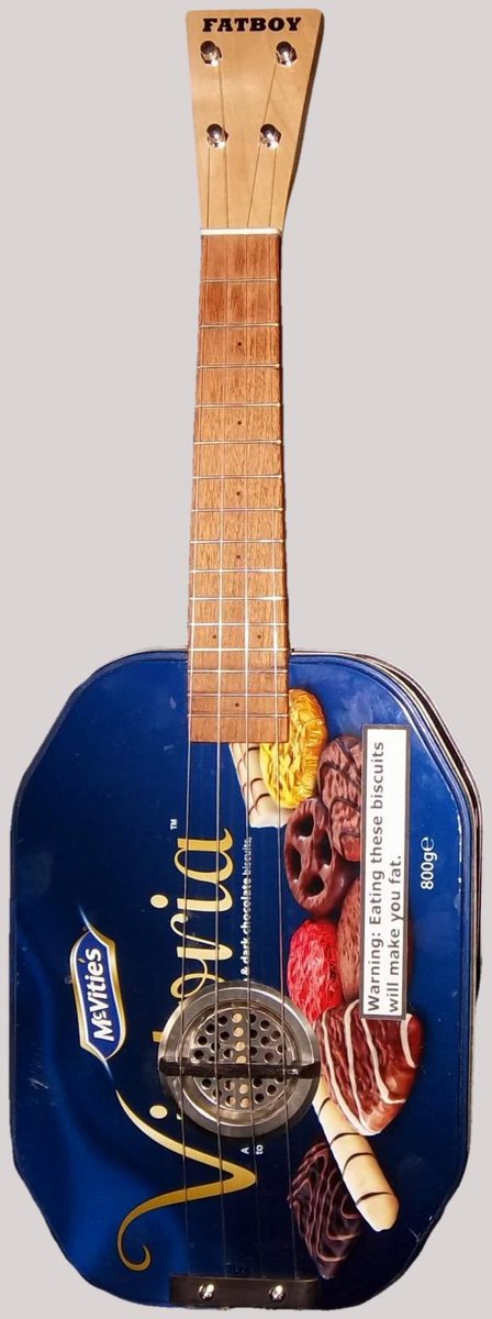 Fatboy special biscuit tin ukulele
