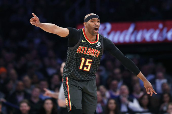 NBA player Vince Carter is 43. Happy Birthday!!