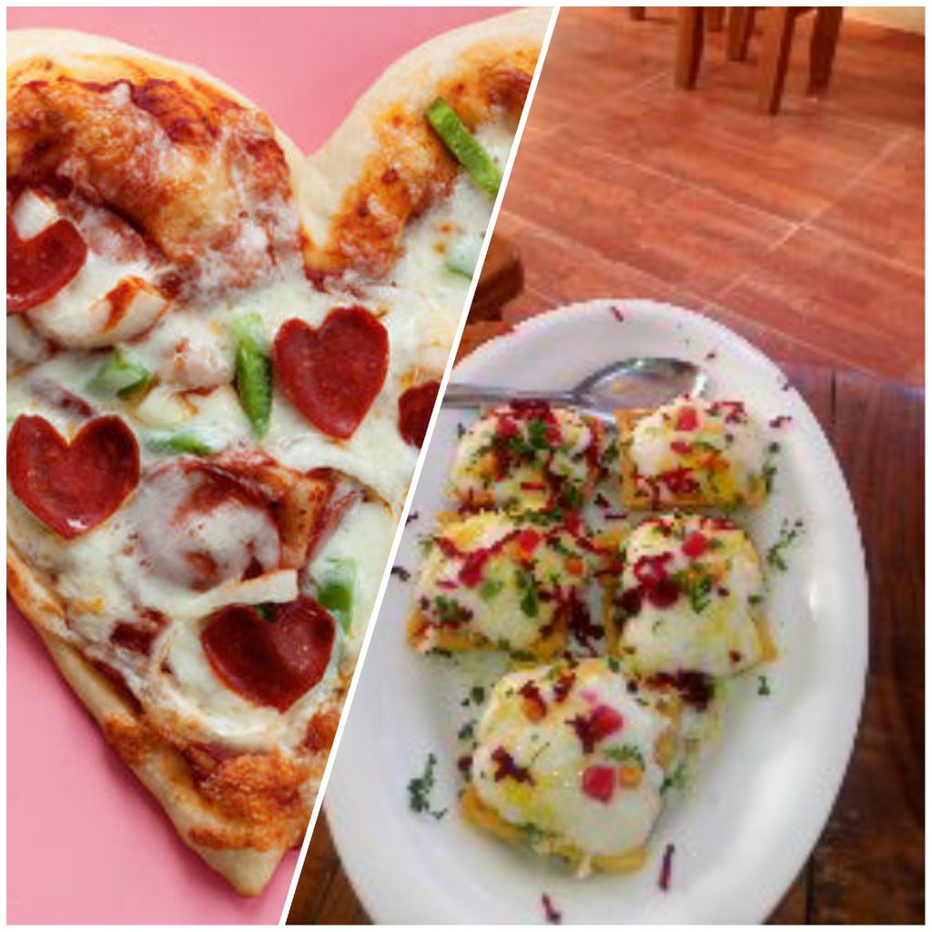 Here is one more combination of different dishes pizza with American chaat   #Contest #QuikContest #WeirdFoodCombinations #ButWhy #AasaanGrocery #GroceryApp #Grocery #Groceries #GroceryDelivery #GroceryOnline @StarQuik  Join @SantoshPethkar9  @PritiNivoriya  @ramyavellanki
