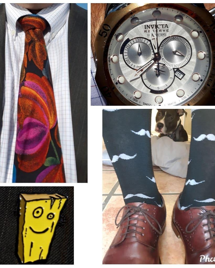 Church Kit #tie #churchtie #tiegame #powertie #sotd #ootd #mustache #bodyglove @bodyglove #socks #sockgame #churchshoes #josephabboud @josephabboud #invicta #invictavenom #invictswatch @invictawatch @invictaryan #swisswatch #lapelpin #pingame #plank #ededdneddy  #jonny2x4