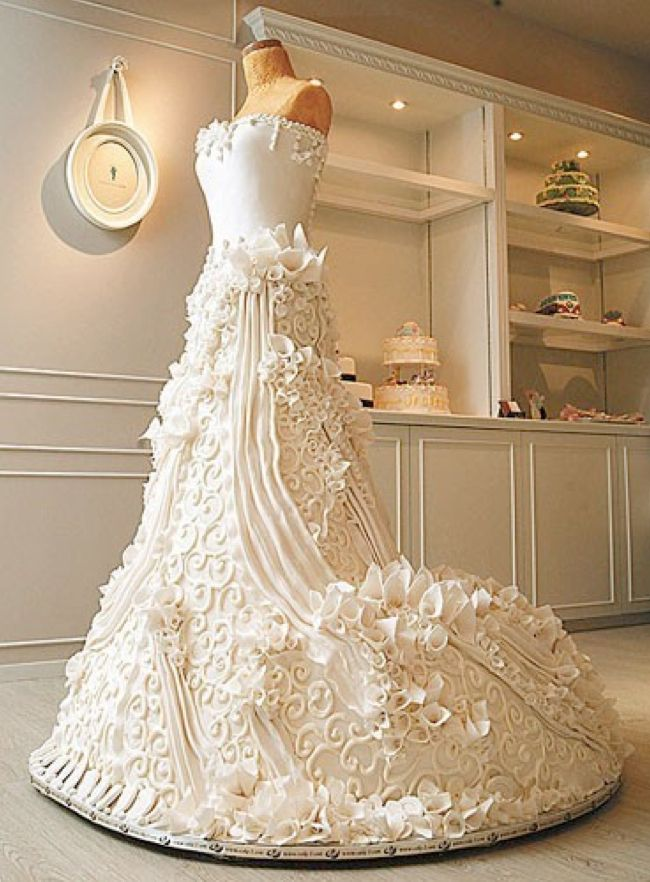 How about a 2nd wedding dress at your wedding?  You can have any kind of cake you want for your big day even a wedding dress cake.  #weddingdress #wedding #bride #weddingday #weddingphotography #weddinginspiration #love #cake #360sitevisit #weddingideaspic.twitter.com/myNMRNlPYD