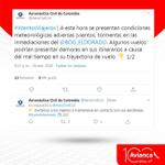 Image for the Tweet beginning: #Atención: En este momento se