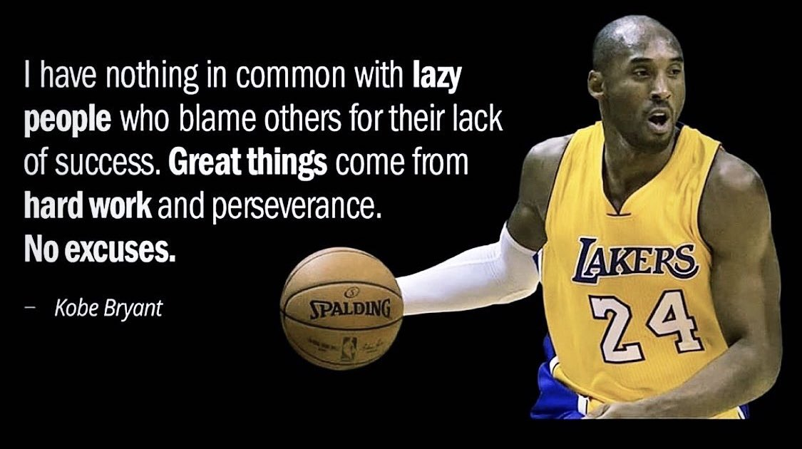 Hard work and perseverance #NoExcuses <br>http://pic.twitter.com/glhOsQdkdk