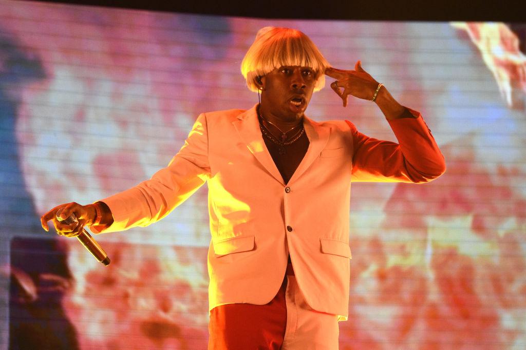 Tyler, The Creator's 'IGOR' wins Best Rap Album at the #Grammys trib.al/HUSC4uB