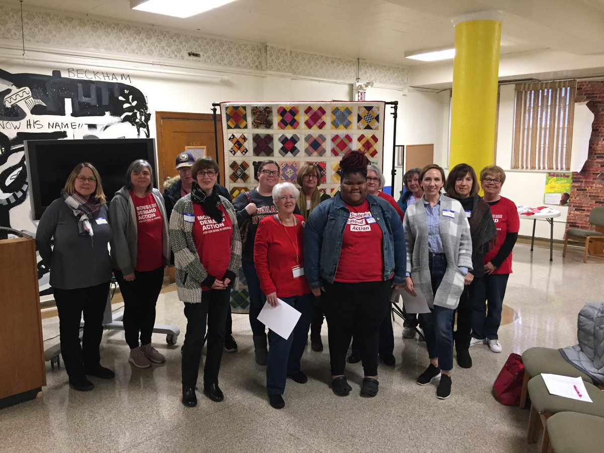 Dayton @MomsDemand meeting was full of enthusiasm for upcoming elections and events! #DaytonStrong #KeepGoing We will stop Stand Your Ground again in Ohio! <br>http://pic.twitter.com/oeN94LaFQD