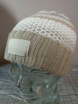 Check out Calvin Klein Womens Waffle Knit Striped #Beanie #Hat White Beige #CalvinKlein #Beanie https://buff.ly/2uzu12s via @eBaypic.twitter.com/zmiB72NuoL