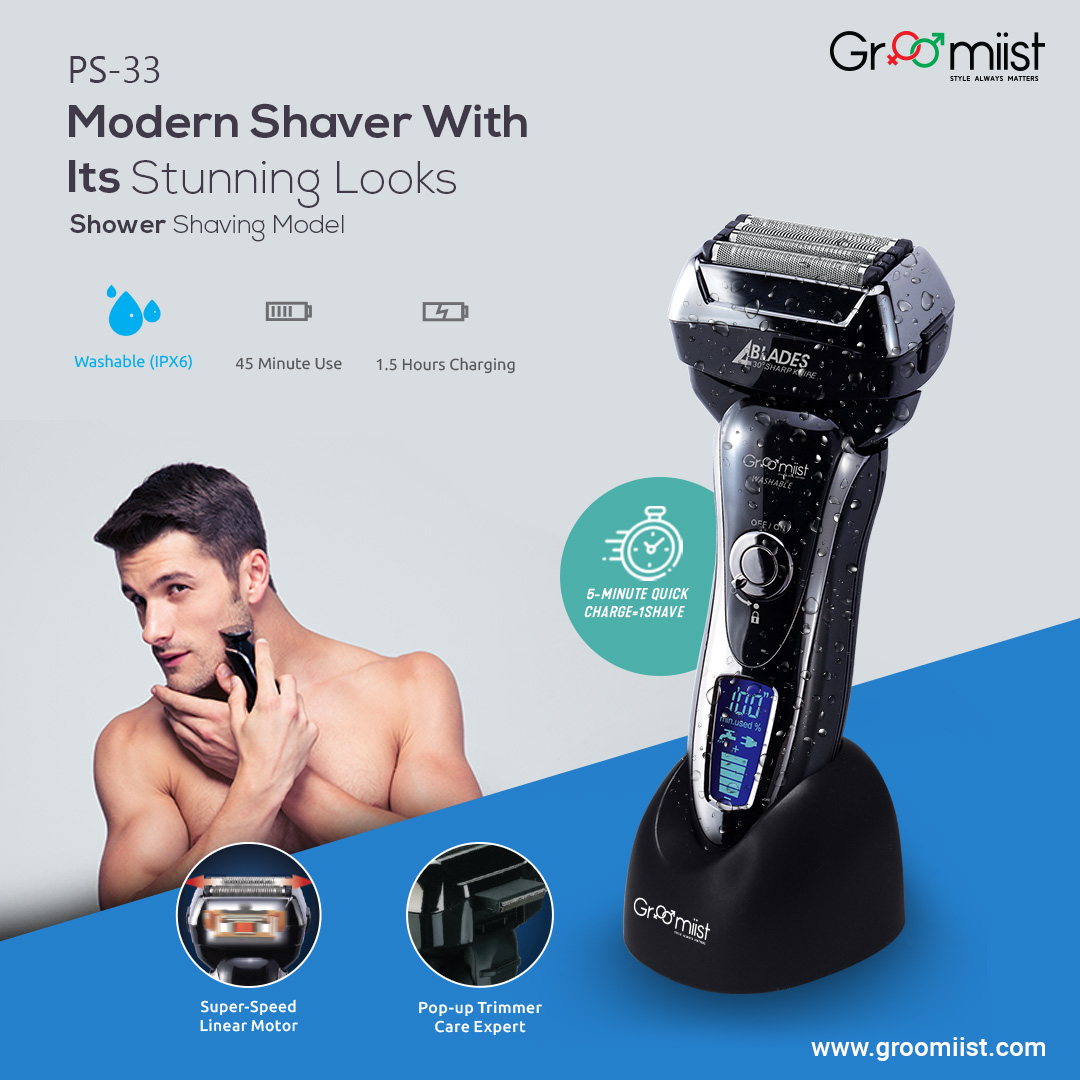 Groomiist Pop-Up Trimmer, Fast Charge, 45 Minutes of Cordless Usage, 5 Min Quick Charge = 1 Shave.  Visit- http://bit.ly/2QZ8UQ2  #groomiist #MensGrooming #hairtrimmer #trimmer #beard #beardstyles #beardtrimmer #facialhair #indianmengrooming #beardgrooming #mensgroomingproductspic.twitter.com/8DO7mJSoTH