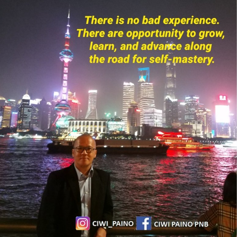 There is no bad experience. There are opportunity to grow, learn, and advance along the road for self-mastery. . GBU all my bros & sis. . #ciwipaino #quote #quotes #dailyquote #dailyquotes #quotestoliveby #quoteoftheday #happiness #selfimprovement #selfdevelopment #pic.twitter.com/YVOggYKTws