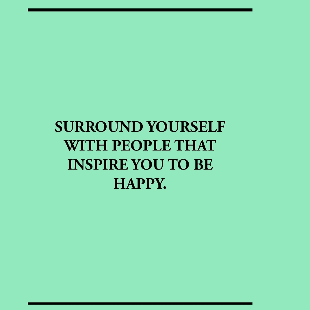 Surround yourself with people that radiate the right energy for your growth and happiness. pic.twitter.com/bYAIkFFhtn
