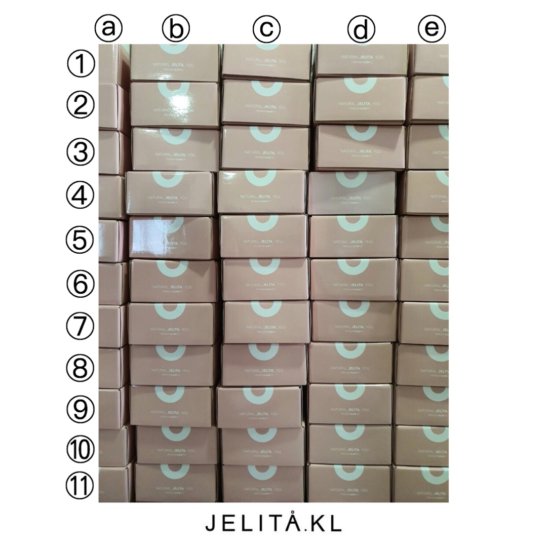 """[GIVEAWAY] The colour of this box is slightly off. Tell us which box is it and stand a chance to win PST 2.0 + Ltd Edition Glow Kit box + stickers. Reply us with """"Kak Jelita saya rasa jawapannya ....""""  There will be 3 lucky winners!Giveaway ends at 28/1/2020 11.59pm <br>http://pic.twitter.com/WIEorvCMkS"""