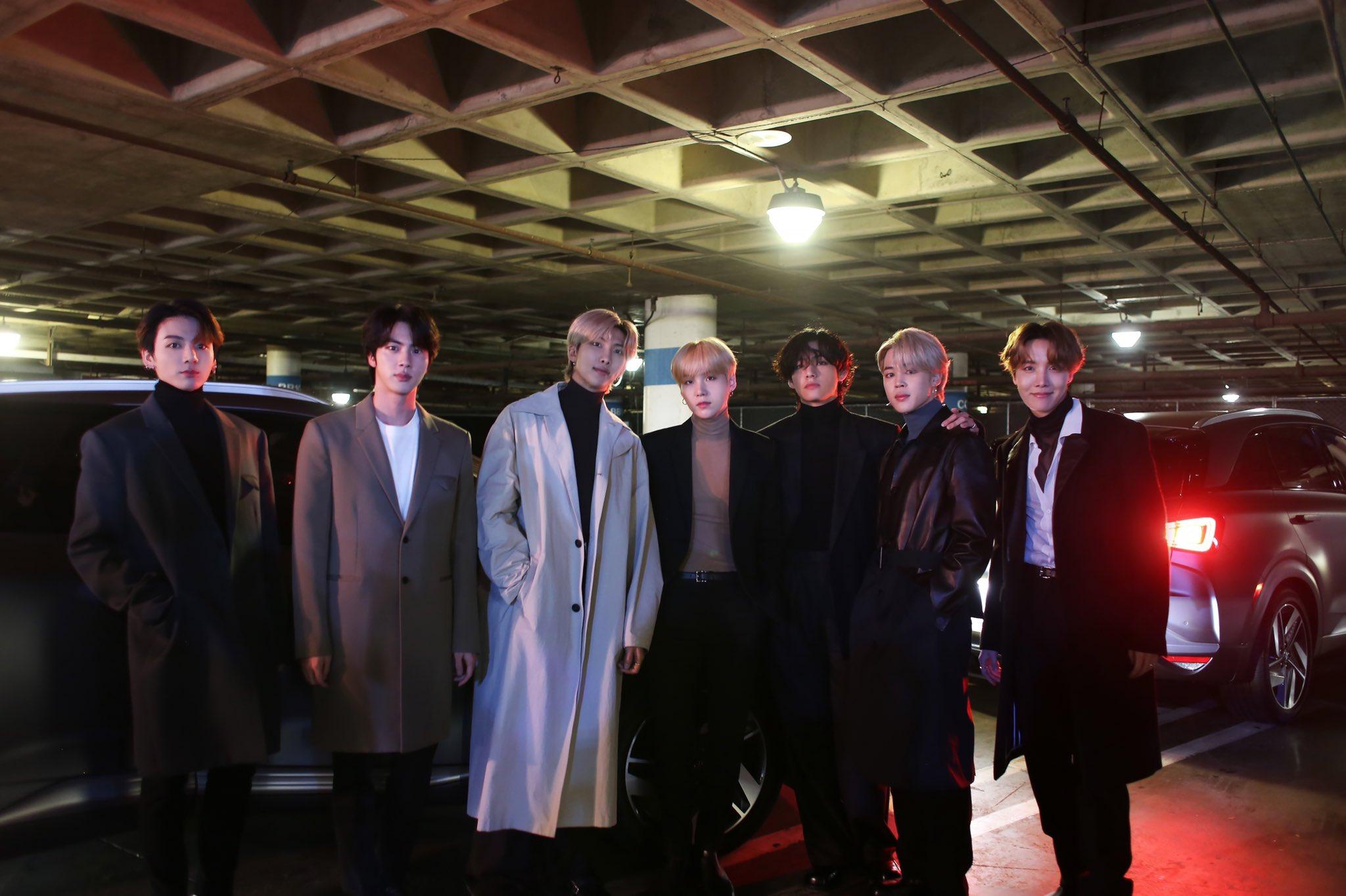 BTS Naik Hyundai NEXO Pertama Kali ke Grammy Awards 2020