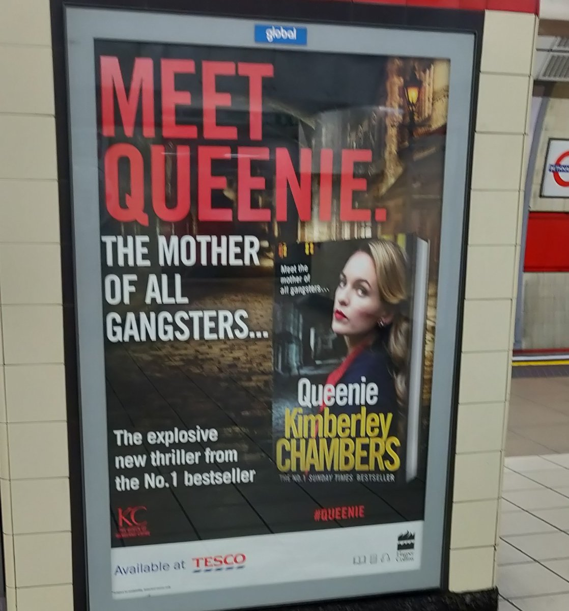 I'm confused. @CandiceC_W already introduced us to Queenie and this isn't her