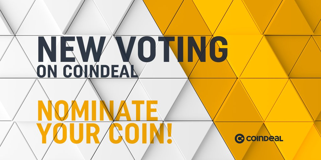 The last #nominations were amazing! 🤩  Now you can #nominate your favorites  coins once again to enter our #voting. 👑 Remember, it's up to you who will be in TOP10. 😁  NOMINATE NOW! 🔥🔥🔥 https://t.co/OmDHEzEwvj