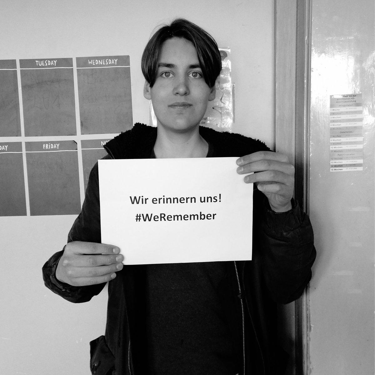 #WeRemember