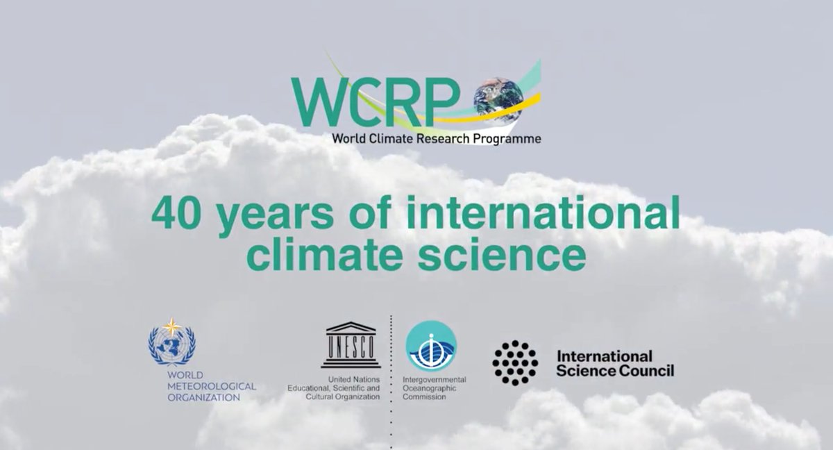 WCRP: 40 years of international climate science
