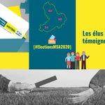 Image for the Tweet beginning: [#ElectionsMSA2020] Les élus témoignent... Retrouvez tous les