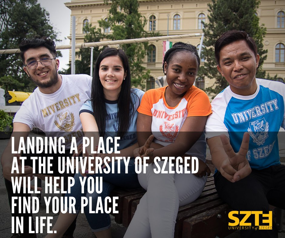 Apply to the University of Szeged 🇭🇺 and be a part of our international community 🗺️  #SZTE #Universityofszeged #Hungary #StudyinSzeged #SZTEinternational