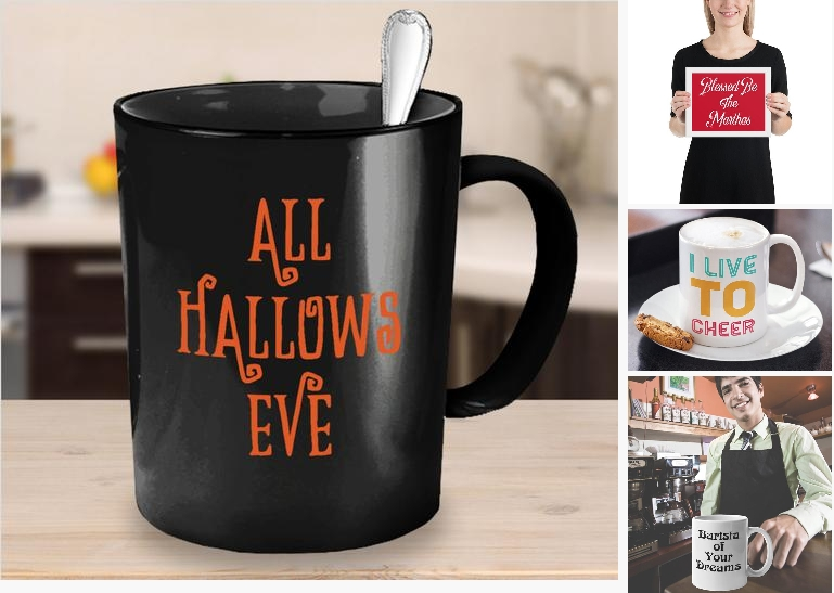 Halloween coffee mug - all hallows eve gift #housewares @EtsyMktgTool https://etsy.me/2NWNEIT  #allhallowseve #halloweenmug #halloweengiftpic.twitter.com/41bSwBG4jY