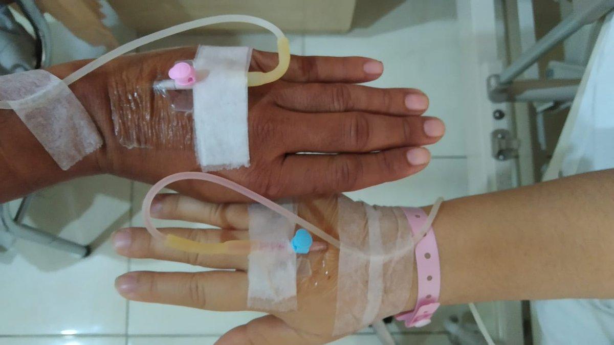 ...in sickness and health...  . . #couples #couplegoals #couple #marriedlife #pasangan #pasanganromantis #sakitbarengan #sakit #suamiistribahagia pic.twitter.com/atgPM80psZ – at Rumah Sakit Puri Cinere