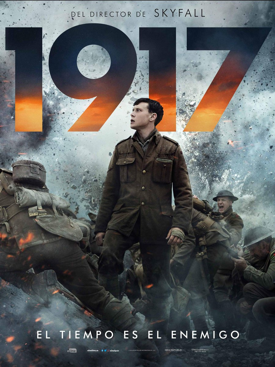 Gran Película #1917Movie #1917LaPeliculapic.twitter.com/TpJOndbDjc