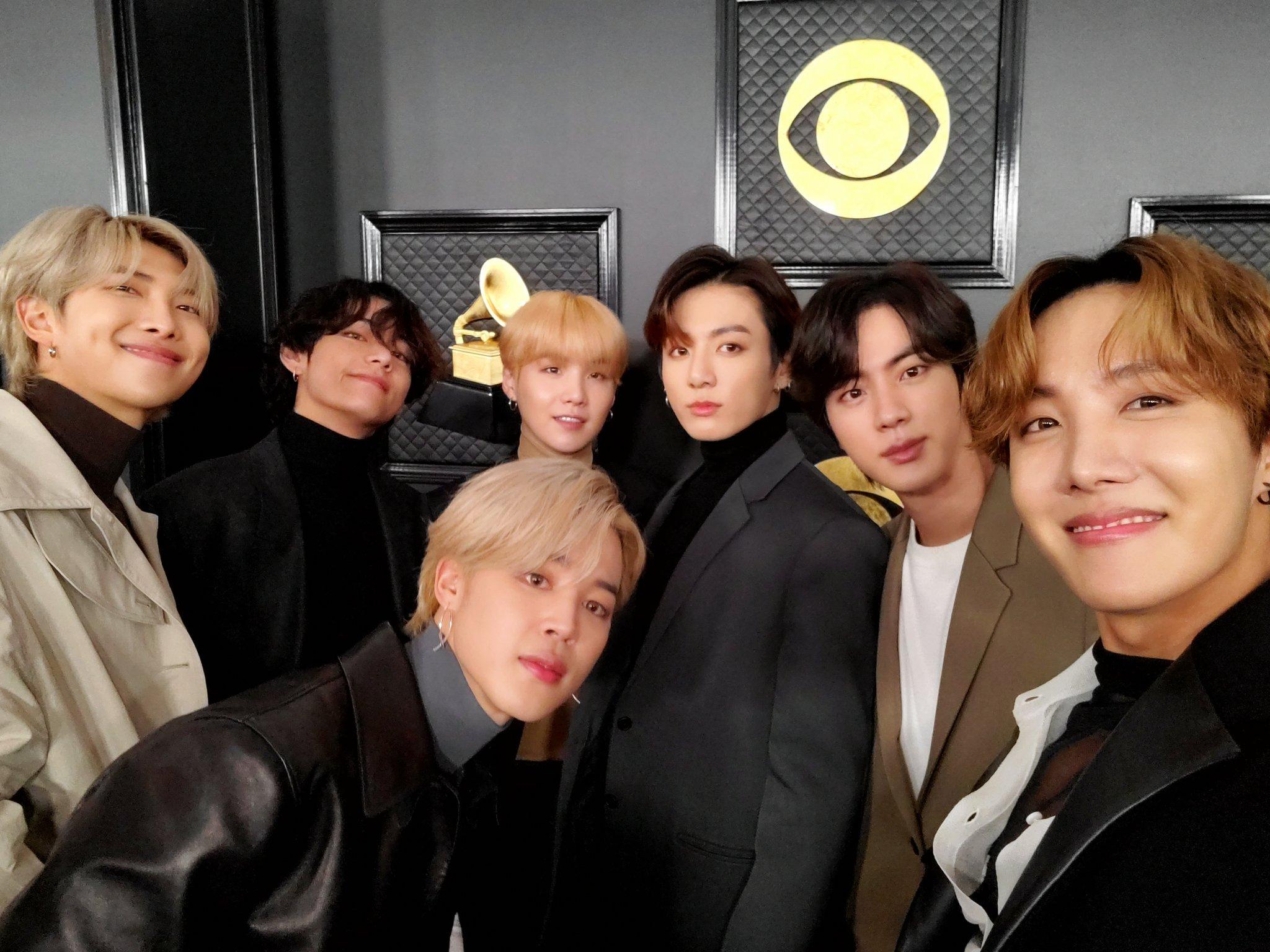 BTS Sedikit Memberi Bocoran Album Terbaru Map of The Soul: 7 di Grammy Awards 2020